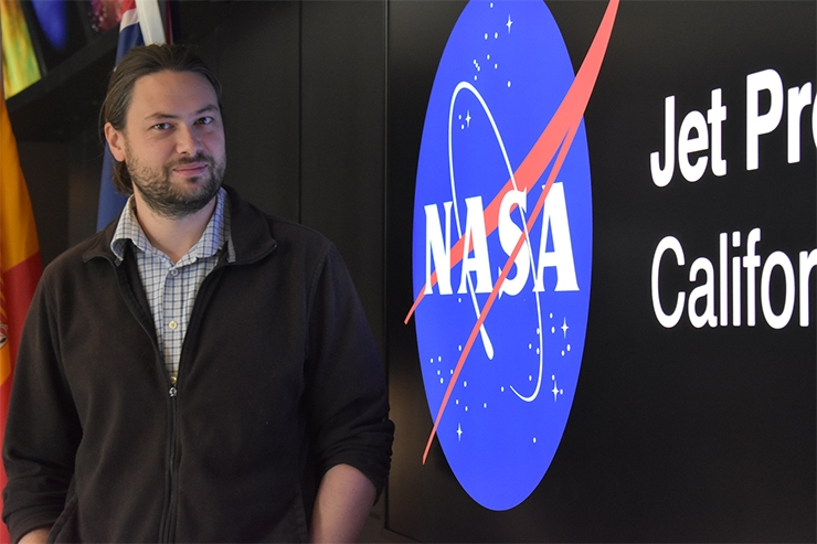UA Electrical Engineering Alumnus Takes Part in NASA's Mission History