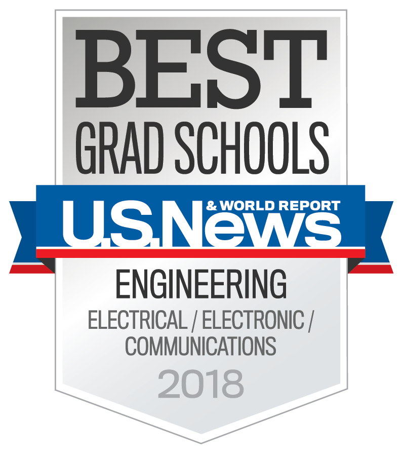 Best Grad Schools U.S. News and World Report Engineering Electrical/Electronic/Communications 2018